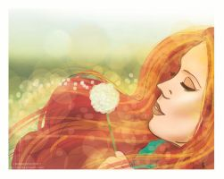 Summer Day by LilyRedHaired