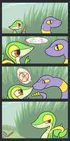 Lonely Grass by NessStar3000