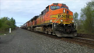 BNSF Corn Train in Bayview, NY by Fluttershy-Lover