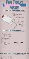 Pen Tablet Meme by Angel-Meow-Kitty
