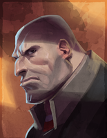 TF2 Heavy #2 by Makkon