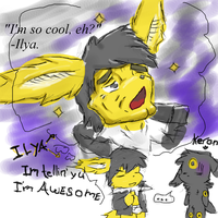 Ilya thinks he's awesome. by MikeWong2795