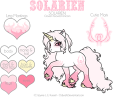 Solarien - She's been named by Odyrah