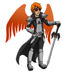 Homestuck: Crow Knight by Kitty-Quixotic