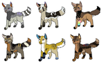 Pups for XKSilver by LizzysAdopts