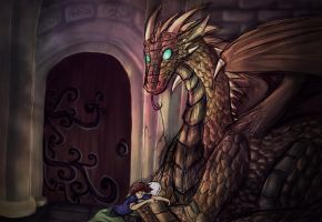 Dragonface by NixsRebellionOfLies