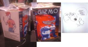 Gizmo bound collected book by MichaelDooney