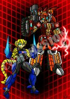 Commission: Autobot Robians by Berty-J-A