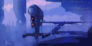 Speed Paint 17- Morning Commute by AnthonyDevine
