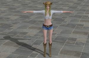'D4' Amanda - Cowgirl XPS ONLY!!! by lezisell