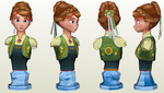 [Download] Anna Frozen fever bust by Orel67
