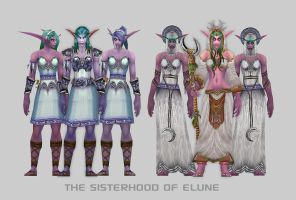 Sisters of Elune by Vaanel