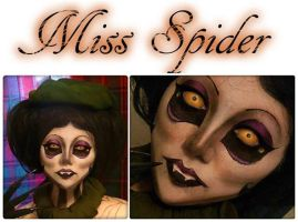 Miss Spider Makeup Look (Updated) by HannabalXMarie