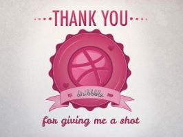 First Shot - Dribbble - Vector Graphic by dhosford