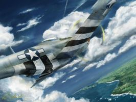 P-51D 5nt wallpaper by p-51