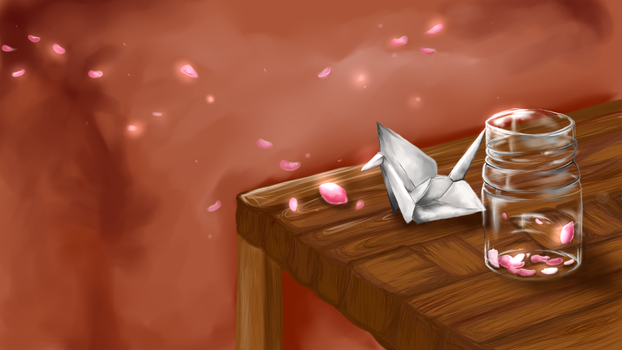 petals and paper by Mandy200