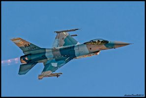 Aggressors F-16 by AirshowDave