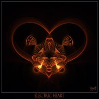 Electric Heart by Brigitte-Fredensborg