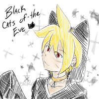 Black Cats of the Eve by SilverRiku
