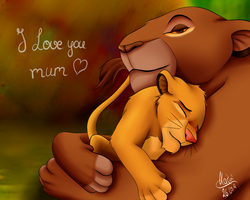 I love you mum by KazumiNoMegami