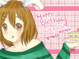 For Wendy by MaloChan
