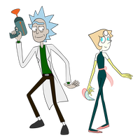 Rick and Pearl by FableSpeaker