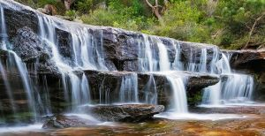 Wattamolla Creek by MarkLucey
