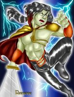 Raziel Fighting by Reenave