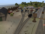 The (nearly) Completed Yard by SkarloeyRailway