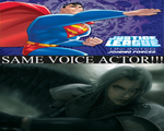 Same Voice Actor of Superman and Sephiroth by newsuperdannyzx
