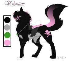 Valentine Ref- contest entry by mirzers