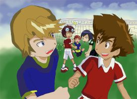 Digimon: Soccer Run by Shigerugal
