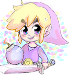 Purple Tooooon link by xPetalstormx