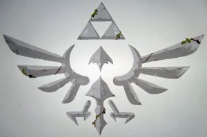 Hylian crest by RememberingChildhood