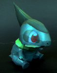 Axew Papercraft by Sabi996