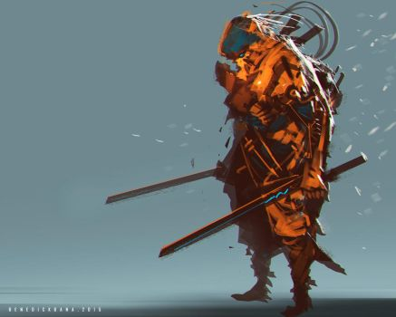 Radical Swordsman by benedickbana