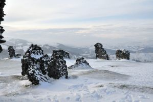 Looking west from Dinas Bran by MadDan