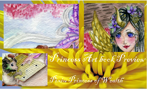 Princess Art book Preview by rave-kunn
