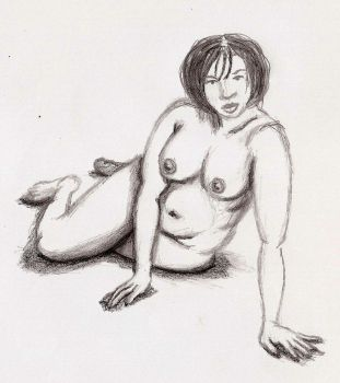 life drawing study1 by Gilstrap