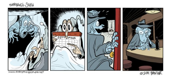 G-G-Ghost Christmas by brien-likes-cartoons