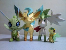 My Grass Type Collection by riolushinx