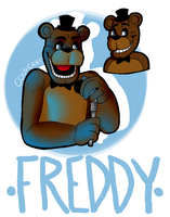 Freddy Fazbear by coulrophiliacs