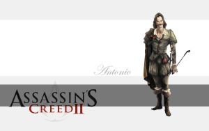 Assassin's Creed 2 - Antonio by Blizzfan98