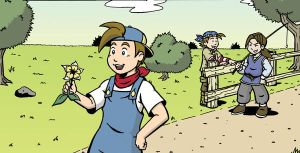 Harvest Moon Panel - Colored by Marvelousboy