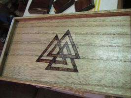Woodburned tray 3 by tiscaitlin