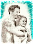 Hugh and Jenn or House and Cameron by ignaciaOK