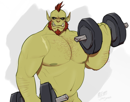 do you even lift, brul? by saltmatey