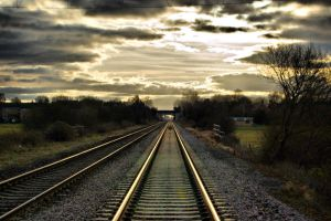 the tracks to hell by speed-demon