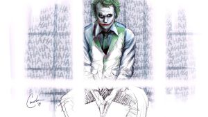 The Joker by toddworld