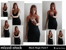 Black Magic Pack 5 by mizzd-stock
